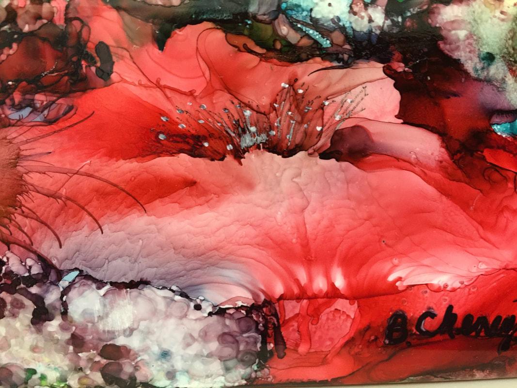 Alcohol Ink Classes   Beginners Art Classes   Phoenix AZ